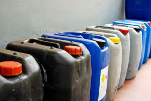 Record keeping is vital when using chemicals