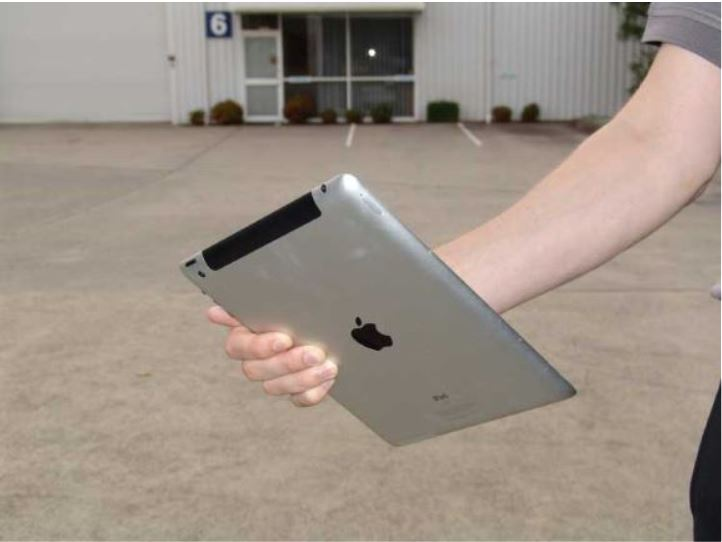 Pre-purchase property inspections done right with tablet