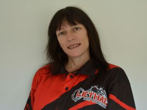 Female pest controller Michelle is a mentor to others